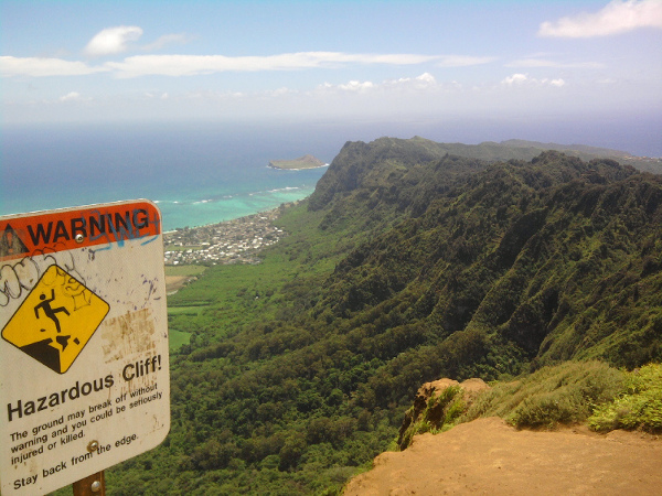 View of Kailua to Diamond Head Hawaii