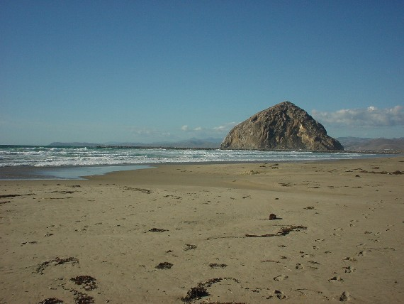 Great beaches at Morro Bay