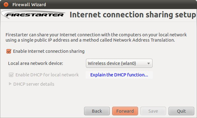How to share your 3g connection over Wifi on Ubuntu Linux